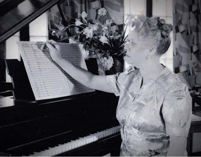Florence Price, photo courtesy the Univ. of Arkansas, Special Collections