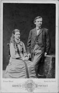 Amanda with Julius Röntgen